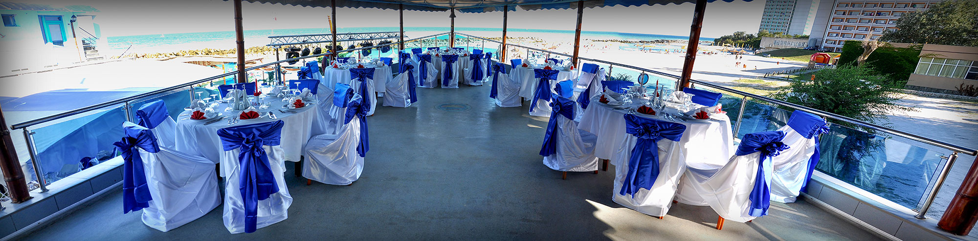 Evenimente - Nunti, botezuri, mese festive, aniversari, majorate, intalniri, petreceri la malul marii